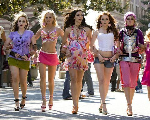 People, Fashion, Clothing, Street fashion, Leg, Pink, Beauty, Shorts, Fun, Snapshot,