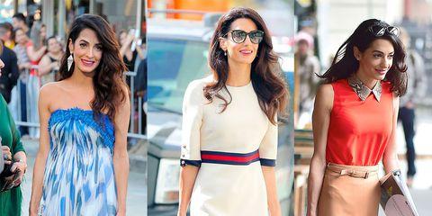 Clothing, Dress, White, Street fashion, Shoulder, Fashion model, Fashion, Yellow, Pink, Footwear,