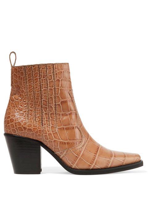 Footwear, Boot, Tan, Brown, Shoe, Beige, Leather, Durango boot, Fawn, High heels,