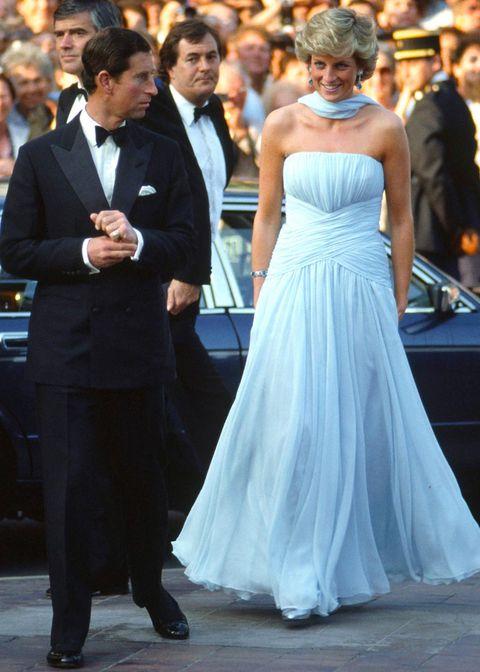 Gown, Dress, Clothing, Shoulder, Wedding dress, Formal wear, Bridal clothing, Bride, Event, Fashion,