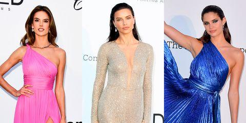 Fashion model, Clothing, Dress, Shoulder, Gown, Cocktail dress, Neck, Joint, Fashion, A-line,