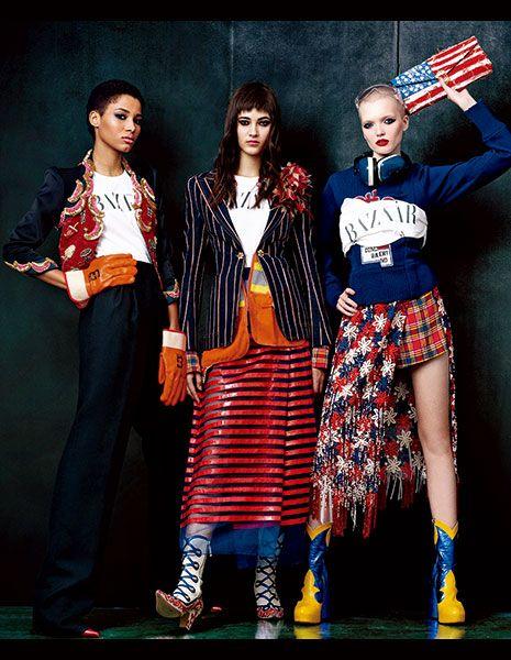 Red, Outerwear, Collar, Style, Pattern, Street fashion, Fashion, Uniform, Fashion model, Fashion design,