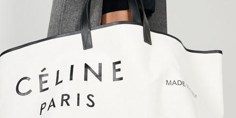 Bag, Handbag, White, Tote bag, Fashion accessory, Font, Luggage and bags, Material property, Diaper bag, Shoulder bag,