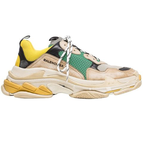 Footwear, Shoe, Outdoor shoe, Running shoe, Yellow, Sneakers, Beige, Hiking boot, Athletic shoe, Walking shoe,