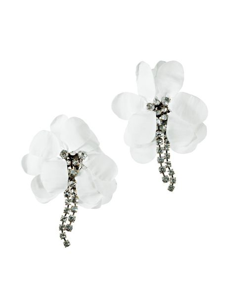 White, Style, Monochrome photography, Black-and-white, Body jewelry, Natural material, Monochrome, Gemstone, Earrings, Silver,