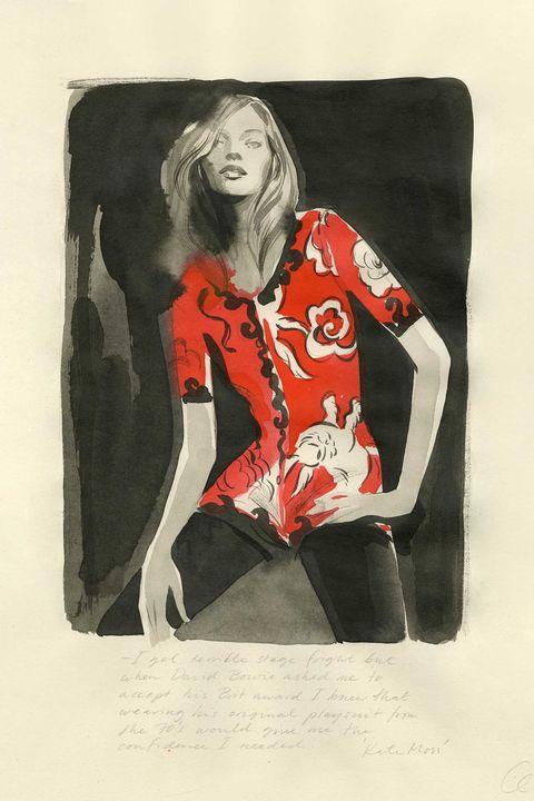 Red, Illustration, Art, Visual arts, Modern art, Fashion illustration, Painting, Drawing, Graphic design, Style,