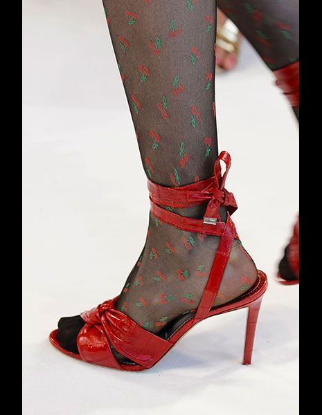 Footwear, Red, Textile, Joint, Human leg, Style, Pattern, Carmine, Fashion, Maroon,