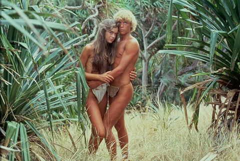Nature, Blond, Grass family, Jungle, Grass, Plant, Tree, Palm tree, Long hair, Muscle,
