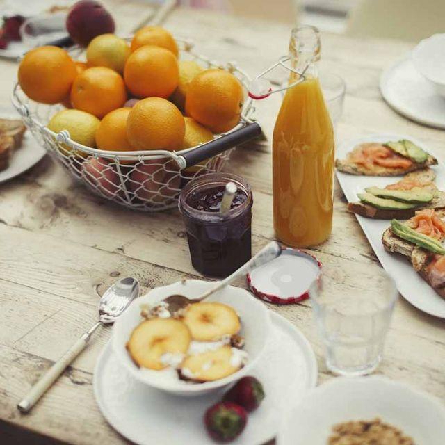 Meal, Food, Brunch, Breakfast, Dish, Cuisine, Full breakfast, Ingredient, À la carte food, Table,