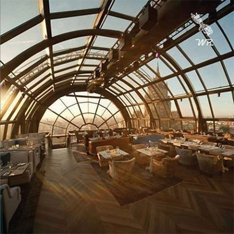Architecture, Glass, Daylighting, Fixture, Tablecloth, Beam, Iron, Metal, Banquet, Hall,
