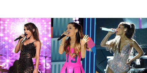 Performance, Clothing, Pink, Dress, Stage, Cocktail dress, Fashion, Violet, Shoulder, Event,
