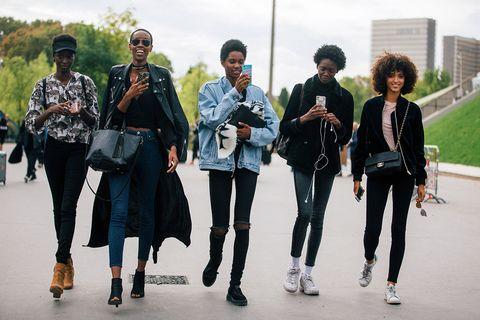 People, Street fashion, Fashion, Eyewear, Footwear, Fashion design, Textile, Tourism, Jeans, Photography,