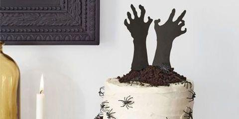 Cake, Cake decorating, Dessert, Buttercream, Icing, Food, Cake stand, Tree, Chocolate cake, Baked goods,