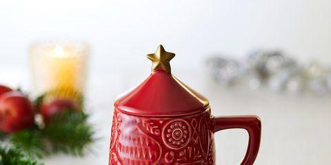 Teapot, Red, Lid, Ceramic, Porcelain, Tableware, Lighting, Kettle, Serveware, Cup,