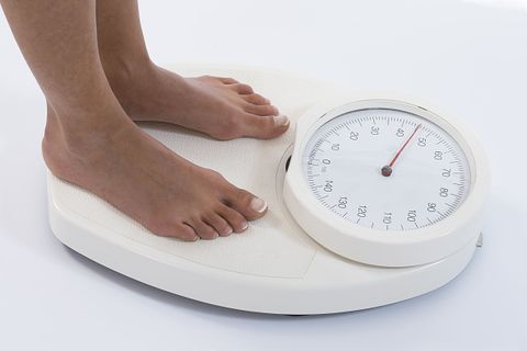 Scale, Clock, Measuring instrument, Leg, Balance, Interior design,