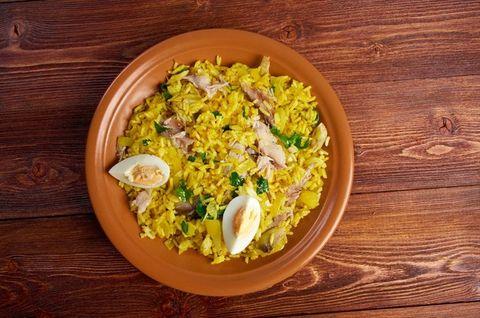 Dish, Cuisine, Food, Biryani, Saffron rice, Ingredient, Produce, Pilaf, Staple food, Recipe,