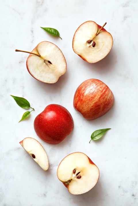 Food, Apple, Fruit, Plant, Natural foods, Superfood, Produce, Flowering plant, Still life photography, Accessory fruit,