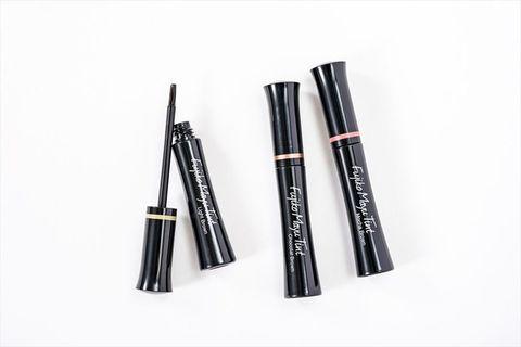 Cosmetics, Eye liner, Eye, Mascara, Material property,