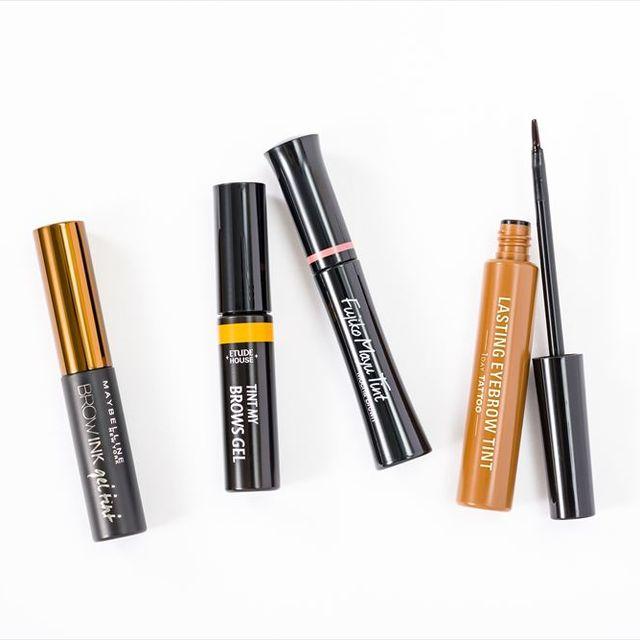 Cosmetics, Eye liner, Brown, Eye, Material property, Mascara, Liquid,