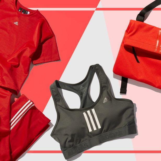 Red, Clothing, Bag, Outerwear, Sportswear, Fashion accessory, Cycling shorts, Handbag, Jacket,
