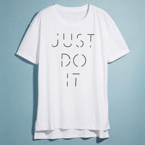 White, T-shirt, Clothing, Product, Black, Text, Sleeve, Font, Active shirt, Top,
