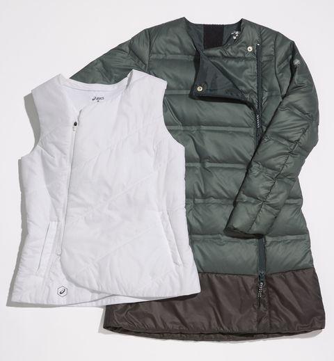 Clothing, Outerwear, White, Jacket, Sleeve, Vest, Pocket,