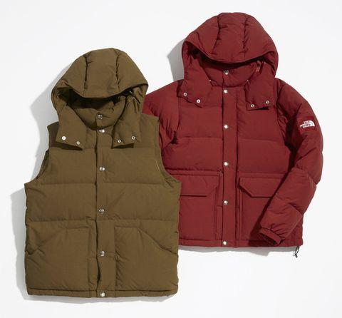 Outerwear, Clothing, Jacket, Hood, Sleeve, Hoodie, Zipper, Pocket, Vest, Beige,