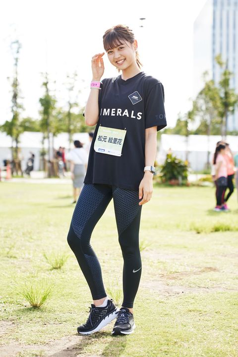 Running, Recreation, Tights, Exercise, Street fashion, Jogging, Shoe, T-shirt, Individual sports, Athletics,