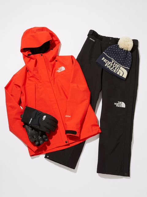 Clothing, Outerwear, Red, Jacket, Sleeve, Personal protective equipment, Rain suit, Sportswear, Hood,