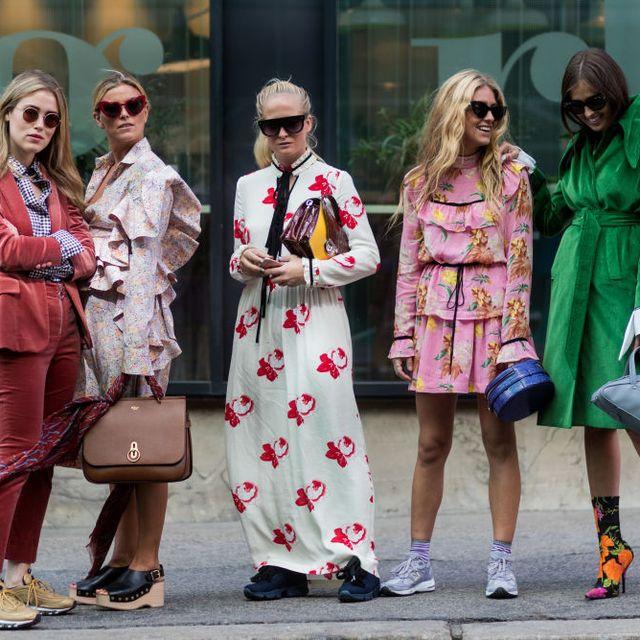 Street fashion, People, Fashion, Sunglasses, Eyewear, Street, Footwear, Fun, Tourism, Dress,