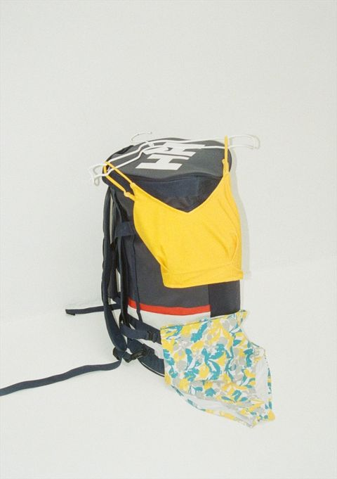 Yellow, Bag, Product, Backpack, Fashion accessory, Luggage and bags, Shoulder bag,