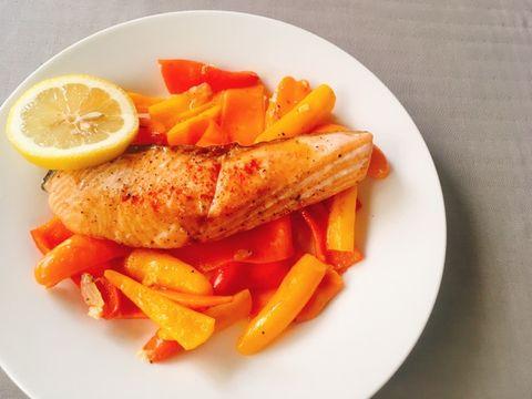 Dish, Food, Cuisine, Ingredient, Garnish, Produce, Fish, À la carte food, Carrot, Side dish,
