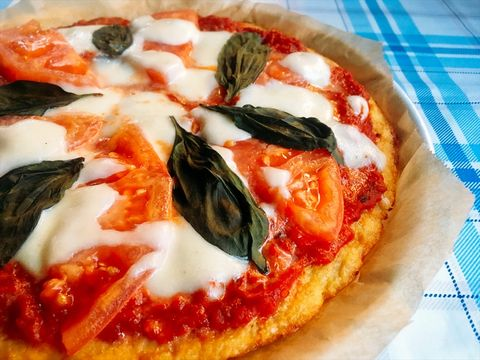 Dish, Pizza, Food, Cuisine, Pizza cheese, Ingredient, Italian food, California-style pizza, Sicilian pizza, Flatbread,