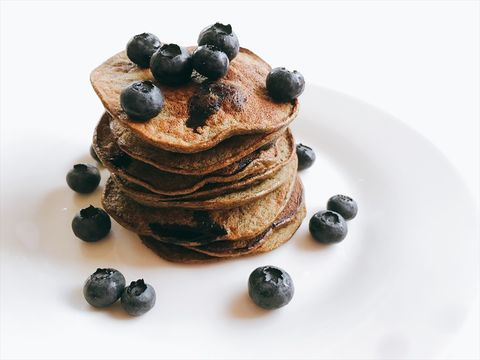 Dish, Food, Pancake, Cuisine, Breakfast, Ingredient, Blueberry, Dessert, Berry, Produce,