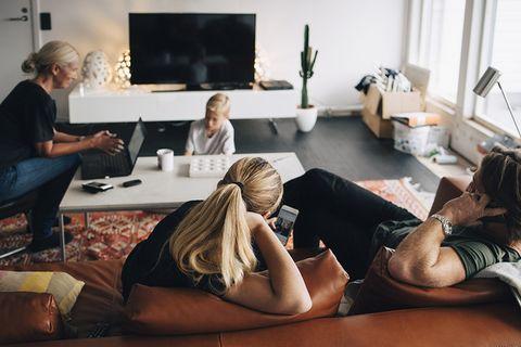Room, Leg, Fun, Sitting, Interior design, Photography, Furniture, Leisure, Comfort, Physical fitness,