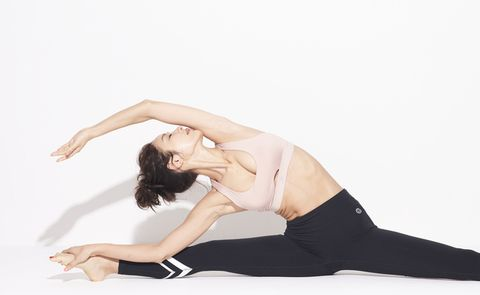 Physical fitness, Leg, Shoulder, Arm, Joint, Stretching, Athletic dance move, Yoga, Pilates, Sportswear,
