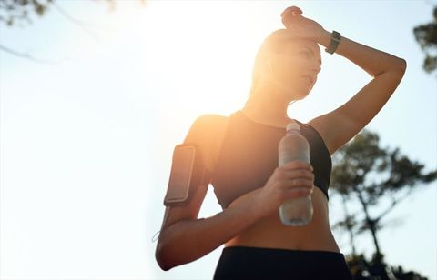 Shoulder, Arm, Joint, Elbow, Hand, Standing, Water, Sunlight, Muscle, Photography,