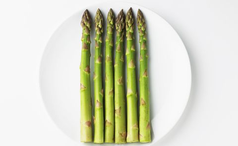 Asparagus, Vegetable, Green, Asparagus, Food, Plant, Produce, Plant stem, Plate, Vegetarian food,
