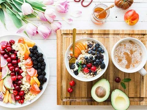 Food, Dish, Meal, Cuisine, Fruit salad, Brunch, Breakfast, Ingredient, Superfood, Food group,