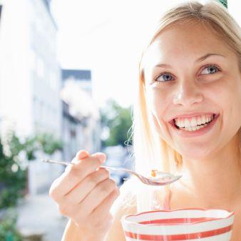 Skin, Drinking, Smile, Lip, Dairy, Food, Eating, Food craving, Lactose, Drink,