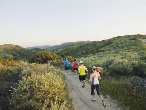 Outdoor recreation, Wilderness, Trail, Mountainous landforms, Fell, Mountain, Natural landscape, Recreation, Hill, Sky,