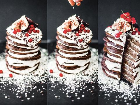 Food, Cuisine, Ingredient, Dessert, Sweetness, Red, Baked goods, Recipe, Dish, Dairy,