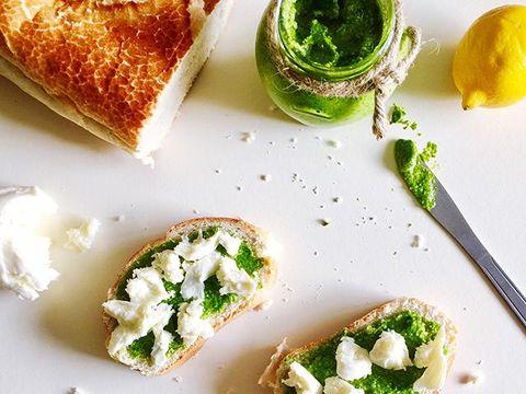 Dish, Food, Cuisine, Ingredient, Goat cheese, Produce, Staple food, Baked goods, Finger food, Feta,