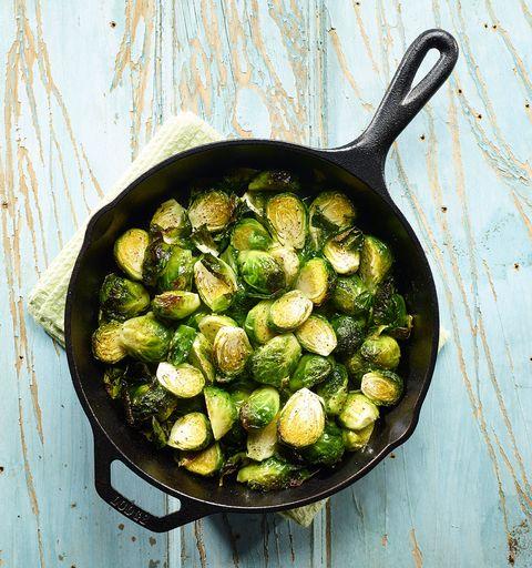 Food, Brussels sprout, Vegetable, Leaf vegetable, Cruciferous vegetables, Ingredient, Dish, Cuisine, Produce, Plant,