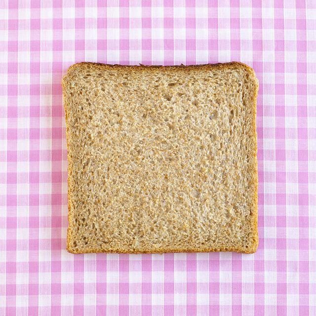 Bread, Rectangle, Food, Whole wheat bread, Cuisine, Vegetarian food, Dish, Baked goods, Whole grain, Toast,
