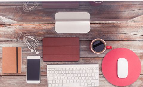 Pink, Rectangle, Technology, Electronic device, Material property, Gadget, Circle, Table, Desk, Wallet,