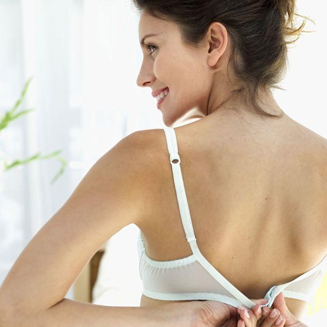 Brassiere, Skin, Shoulder, Undergarment, Chest, Neck, Arm, Joint, Lingerie, Undergarment,