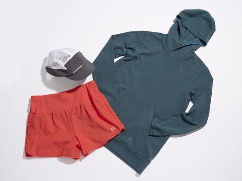 Product, Sleeve, Costume accessory, Cap, Sweatshirt, Hood, Fedora, Active shirt, Costume hat, Hoodie,