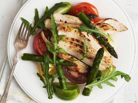 Dish, Food, Cuisine, Ingredient, Asparagus, Produce, Vegetable, Salad, Vegetarian food, Recipe,