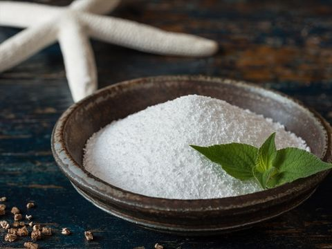Sea salt, Ingredient, Food, Table sugar, Sugar, Cuisine, Herb,